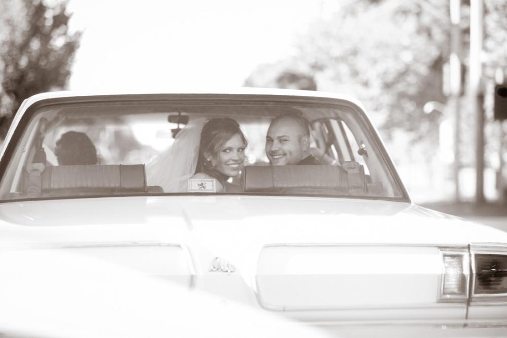 vintage wedding cars
